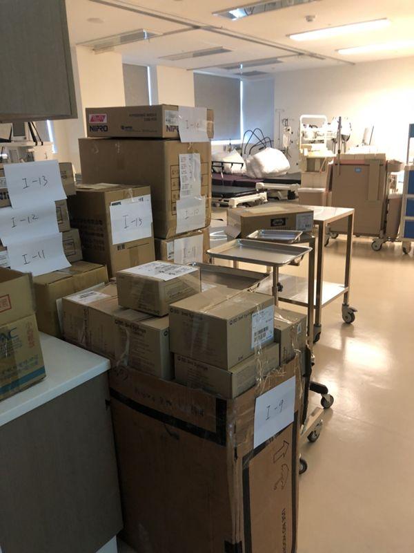 台北搬家案例.台北醫學大學庫房整理文件資料搬運7