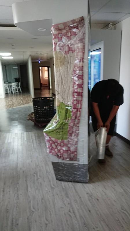 新竹台北市搬家案例.新竹就業中心展覽佈置物品進場南港展覽館1
